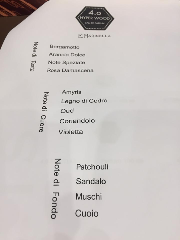 E. MARINELLA 4.0 PROFUMO HYPER WOOD PARFUM