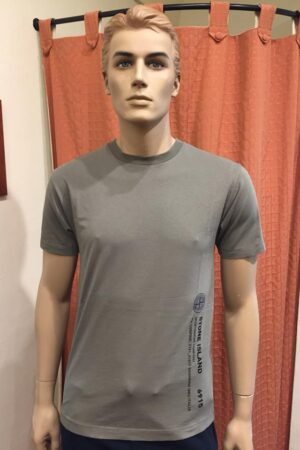 STONE ISLAND T-SHIRT 2NS82 INDUSTRIAL 2 VERDE OLIVA