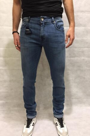 RE-HASH JEANS HOPPER BLUE