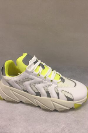 ASH SNEAKERS EXTREME WHITE - YELLOW